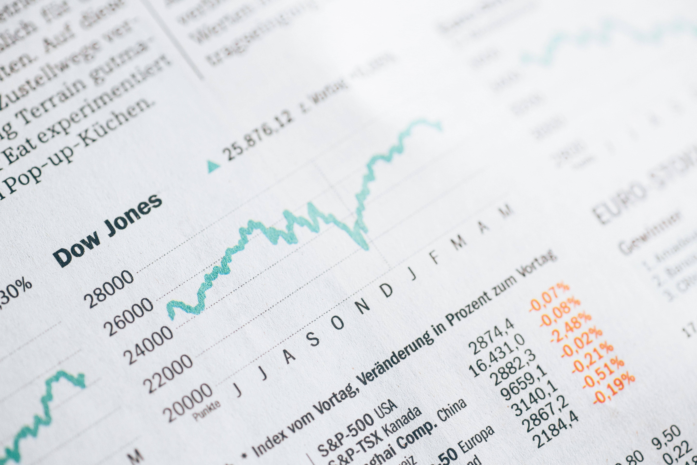 株価チャートの画像