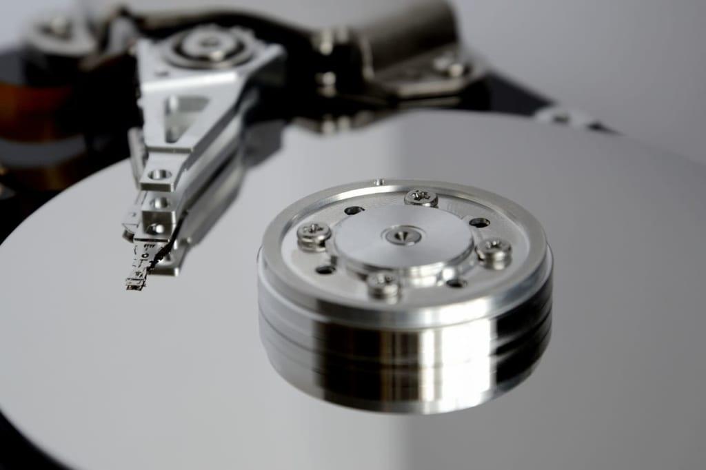 ハードディスクの写真